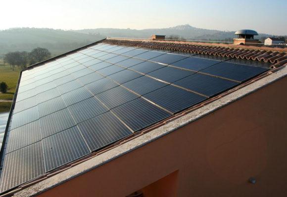 Impianto fotovoltaico ad integrazione architettonica